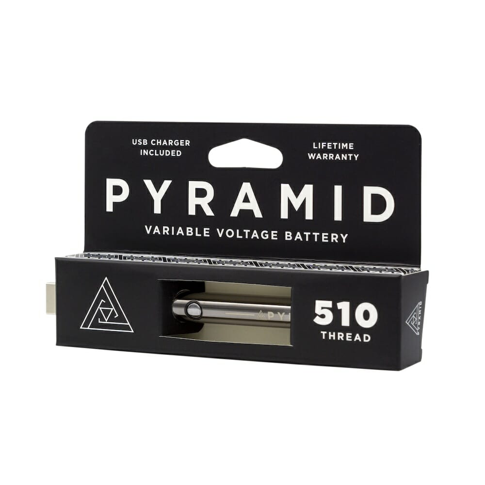 Pyramid variable voltage battery