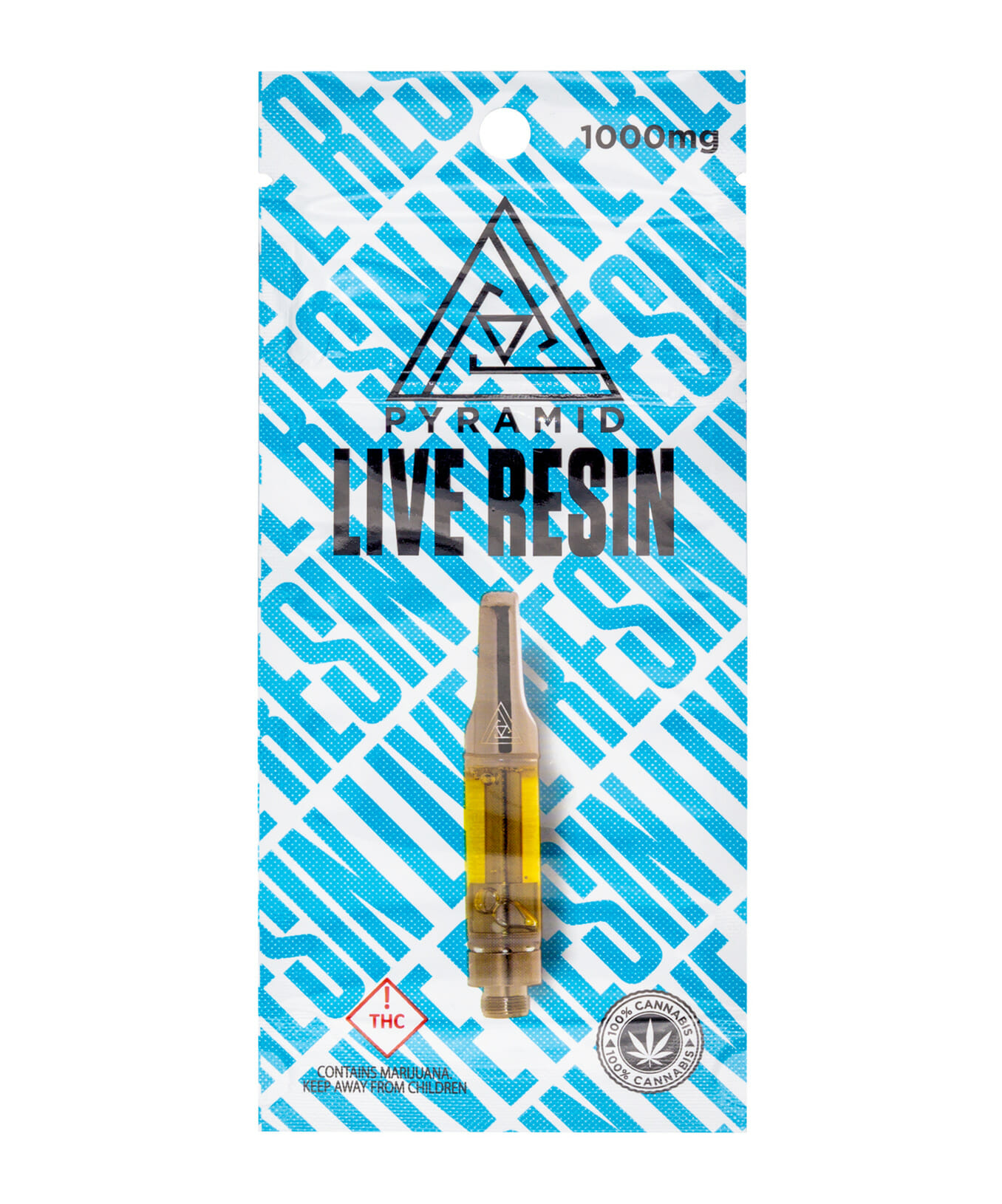 Pyramid Live Resin THC Cartridge